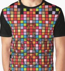 Colorful Square - 136 Graphic T-Shirt