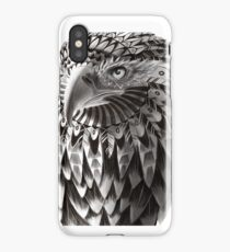 Ornate Tribal Shaman Eagle Print iPhone Case