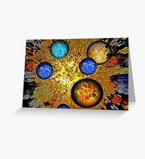 Birth of Time Greeting Card