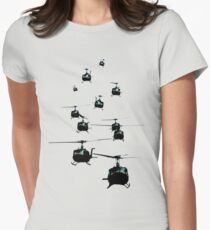 Huey Helicopters Women's Fitted T-Shirt