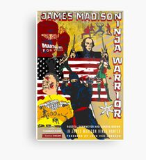 James Madison - Ninja Warrior! Metal Print