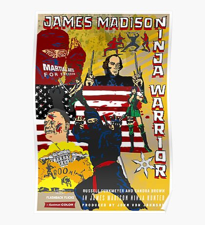 James Madison - Ninja Warrior! Poster