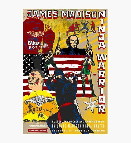 James Madison - Ninja Warrior! Photographic Print