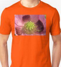 Single Poppy Flower, Close-up. T-Shirt