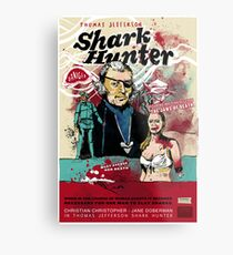 Thomas Jefferson - Shark Hunter! Metal Print