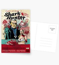Thomas Jefferson - Shark Hunter! Postcards