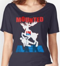 Mounted In Alaska Women's Relaxed Fit T-Shirt