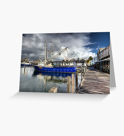 Fishing Boat Harbour - Fremantle - WA Greeting Card