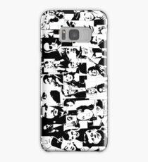 Faces Samsung Galaxy Case/Skin