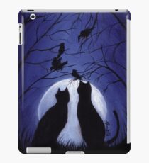 Listen to the Silence at Night iPad Case/Skin