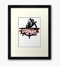 The Goonies - V2 Framed Print