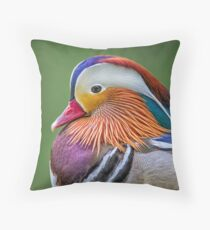 Mandarin Portrait Throw Pillow