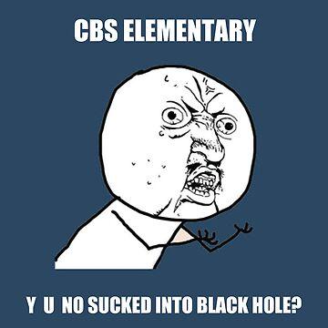 Y U NO Sucked Into Black Hole? by BranMawr