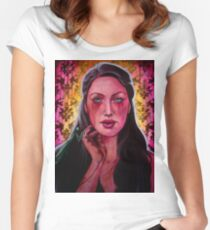 The Mantodea Sultan (VIDEO IN DESCRIPTION!!!) Women's Fitted Scoop T-Shirt