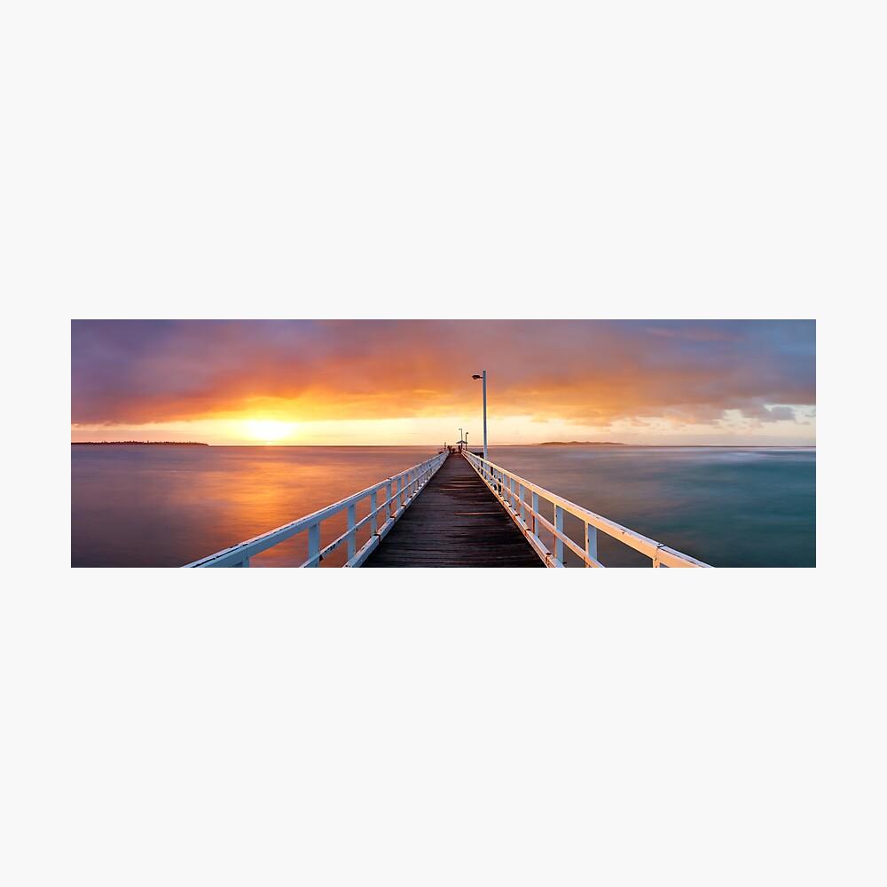 Point Lonsdale Pier, Victoria, Australia Photographic Print