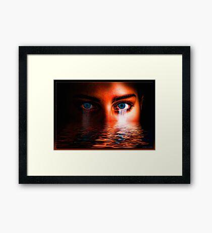 The Origin of Water Framed Print