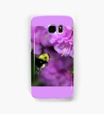 Flying Bumble Bee Collection Pollen Samsung Galaxy Case/Skin