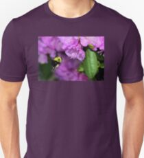 Flying Bumble Bee Collection Pollen T-Shirt