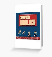Super Wholock Greeting Card
