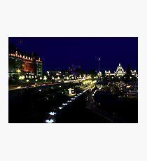 Victoria - The Harbour Front Photographic Print