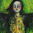 """Soar"" (Self portrait in love) by Tatjana Larina"