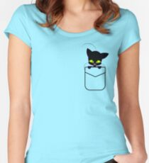 pocket Plagg Women's Fitted Scoop T-Shirt