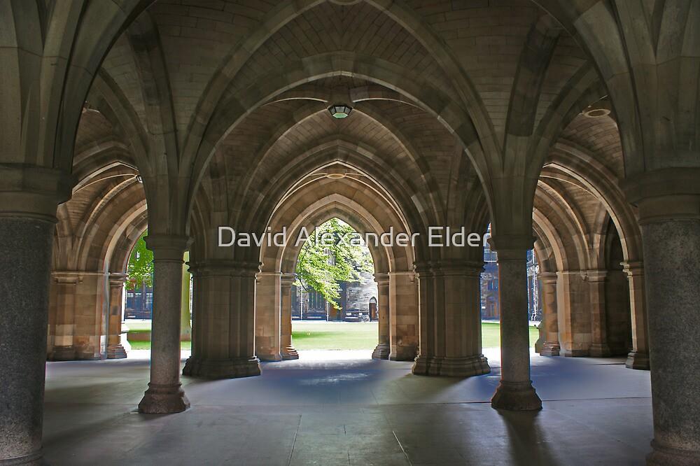 Glasgow University Cloisters by David Alexander Elder