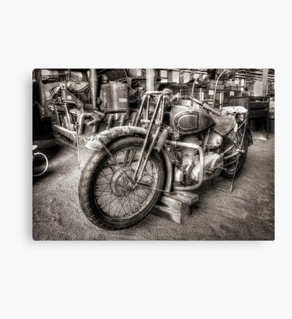 Roll back the years ~ Gilgandra Museum NSW Canvas Print
