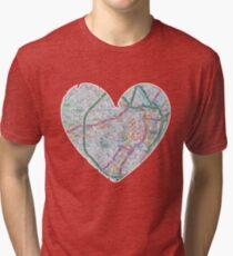 Love Sheffield Tri-blend T-Shirt