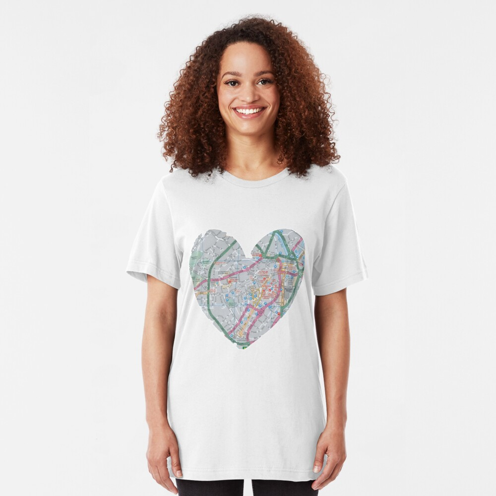 Love Sheffield Slim Fit T-Shirt