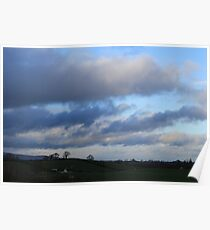 Overbearing Clouds Poster