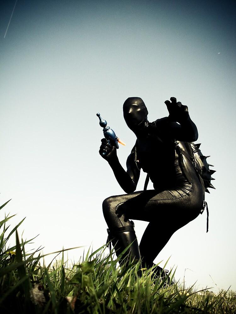Ray Gun Zentai 2012 Set II Pic 04 by mdkgraphics