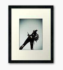 Ray Gun Zentai 2012 Set II Pic 11 Framed Print