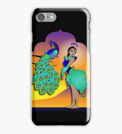 Twisted - Wild Tales: Mohini and the Peacock iPhone Case/Skin