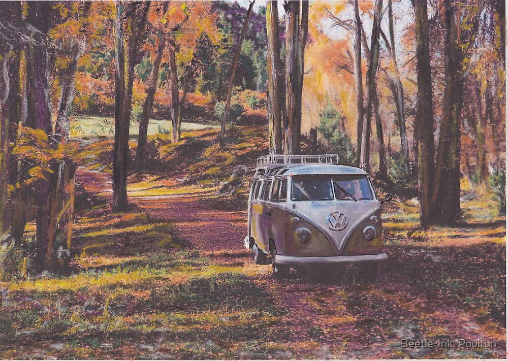 Woodland by Beetle-Ink  Poulton