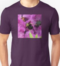 Busy Bee Collecting Pollen On Rhododendron T-Shirt