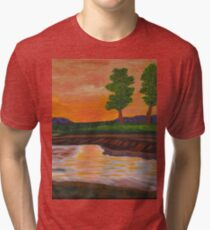 011 Landscape Tri-blend T-Shirt