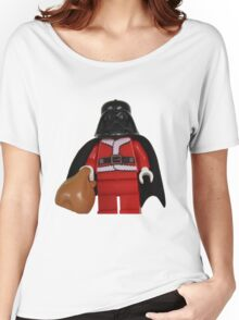 Santa Darth Vader Women's Relaxed Fit T-Shirt