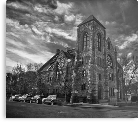 Methodist Episcopal B/W by Adam Northam