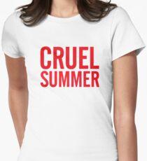 Cruel Summer 1 Womens Fitted T-Shirt