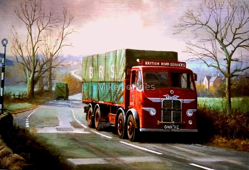 British Road Services Leyland Octopus by Mike Jeffries