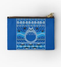 Totoro Knitted Neighbor Studio Pouch