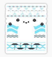 Totoro Knitted Neighbor Sticker