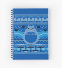 Totoro Knitted Neighbor Spiral Notebook