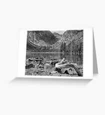 Parker Lake, Ansel Adams Wilderness Area, California Greeting Card
