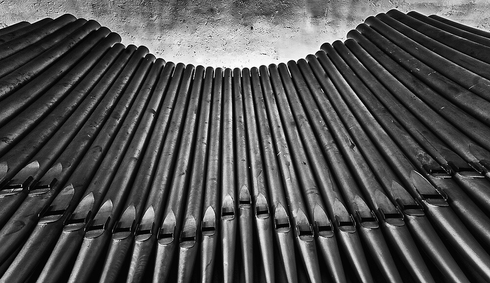 Pipes B/W by anorth7