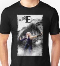 enkElination Black Altar. Unisex T-Shirt