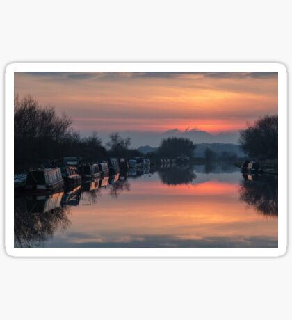 The Gloucester and Sharpness Canal Sticker