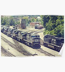 Passing Trains (Version 2) Poster