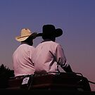 Wild West Lightbox 3: Into The Sunset by farmbrough